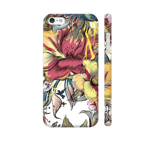 Abstract Flowers iPhone SE Cover | Artist: Astha