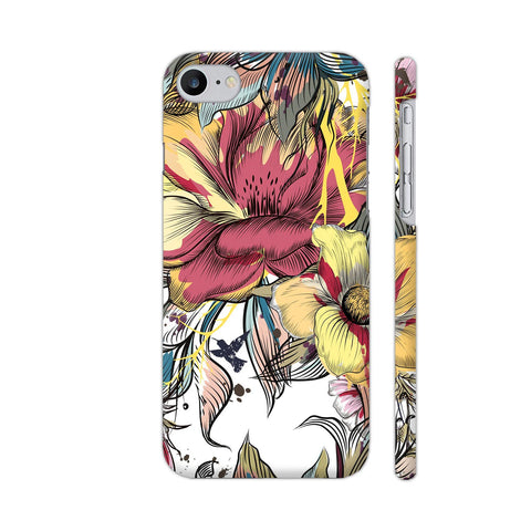 Abstract Flowers iPhone 7 Cover | Artist: Astha