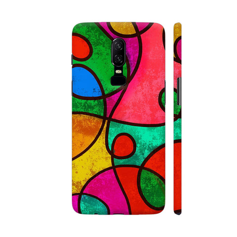 Abstract Mirror Artwork OnePlus 6 Cover | Artist: Ashish Singh