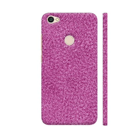 Abstract Pink Grass Redmi Y1 Cover | Artist: Moksha