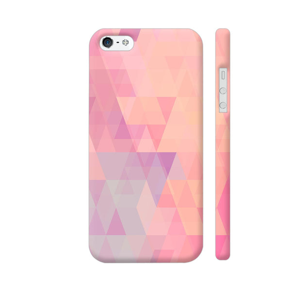 Abstract Pink Triangles iPhone 5 / 5s Cover | Artist: Neeja Shah