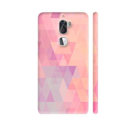 Abstract Pink Triangles Coolpad Cool 1 / Cool1 Dual Cover | Artist: Neeja Shah