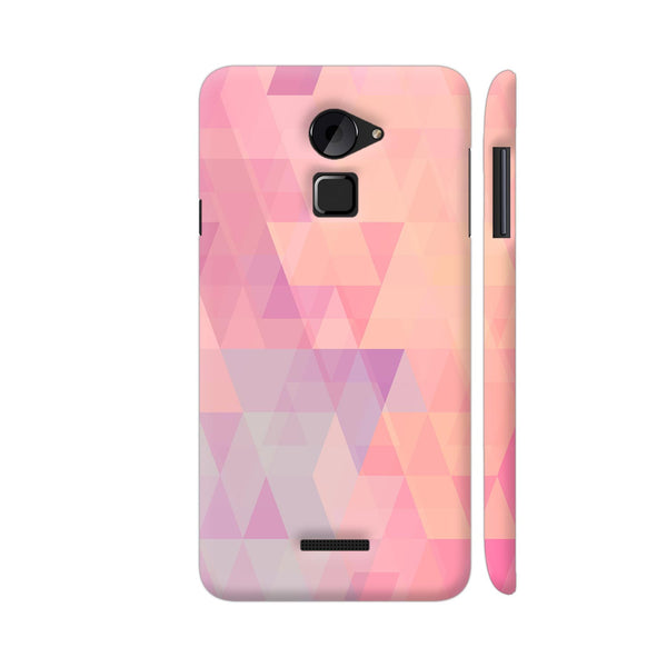 Abstract Pink Triangles Coolpad Note 3 Lite Cover | Artist: Neeja Shah