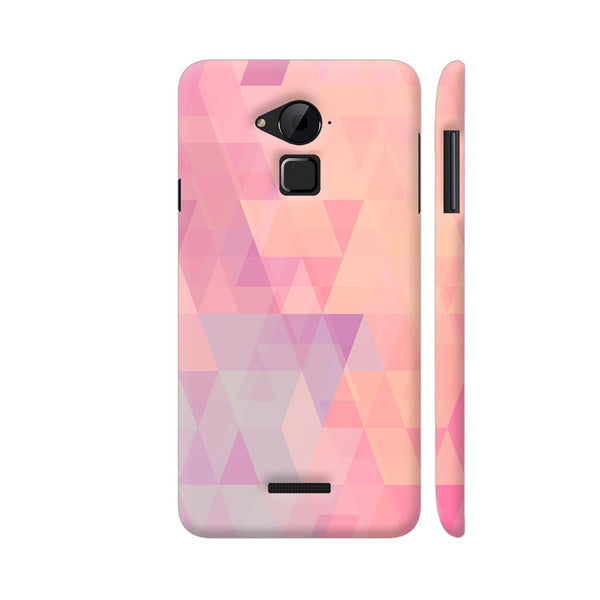 Abstract Pink Triangles Coolpad Note 3 / Note 3 Plus Case