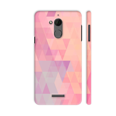 Abstract Pink Triangles Coolpad Note 5 Cover | Artist: Neeja Shah
