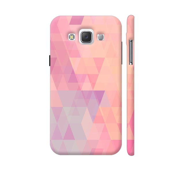 Abstract Pink Triangles Samsung Galaxy E5 Case