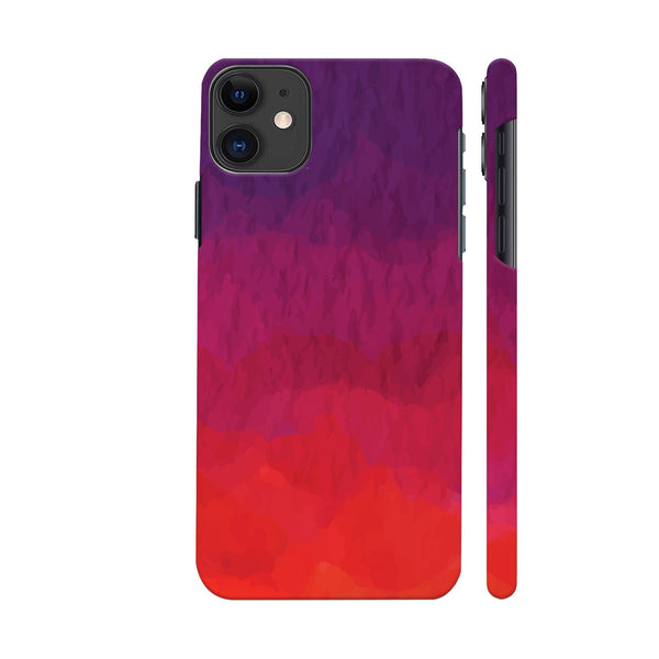 Abstract Shades Of Red iphone 11 Cover | Artist: Abhinav