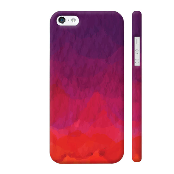 Abstract Shades Of Red iPhone 5 / 5s Cover | Artist: Abhinav