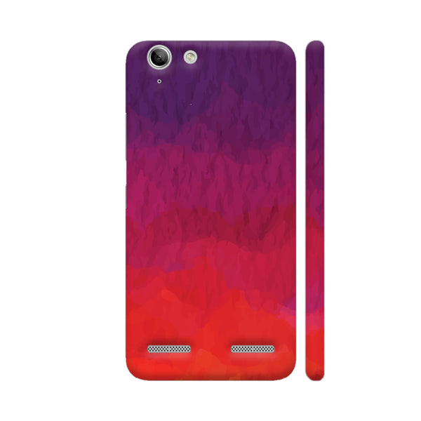 Abstract Shades Of Red Lenovo Vibe K5 / K5 Plus Cover | Artist: Abhinav