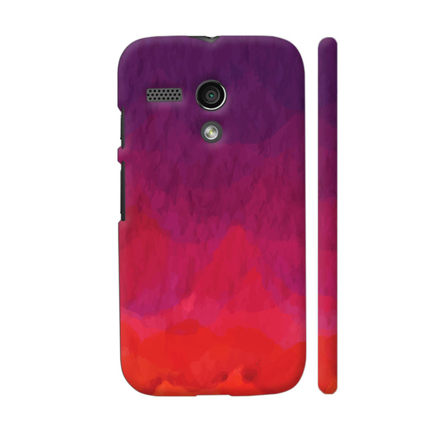 Abstract Shades Of Red Motorola Moto G1 Case
