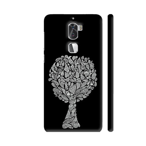 Abstract Tree In Black Coolpad Cool 1 / Cool1 Dual Cover | Artist: Dharanisr