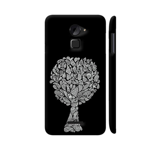 Abstract Tree In Black Coolpad Note 3 Lite Cover | Artist: Dharanisr