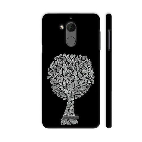 Abstract Tree In Black Coolpad Note 5 Cover | Artist: Dharanisr