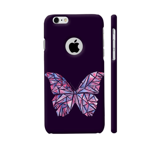 Abstract Watercolour Butterfly iPhone 6 / 6s Logo Cut Cover | Artist: Swathi Kirthyvasan