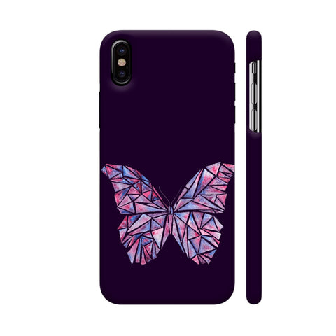 Abstract Watercolour Butterfly iPhone X Cover | Artist: Swathi Kirthyvasan