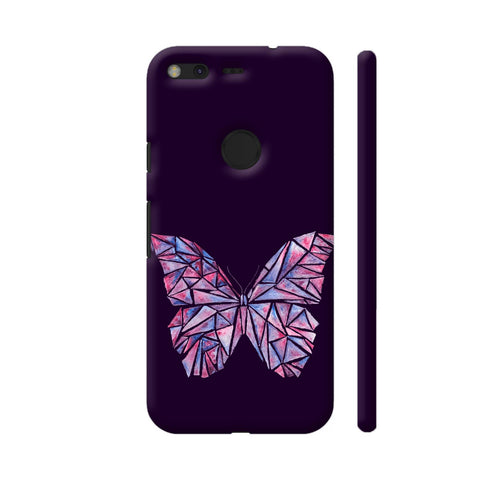 Abstract Watercolour Butterfly Google Pixel Cover | Artist: Swathi Kirthyvasan