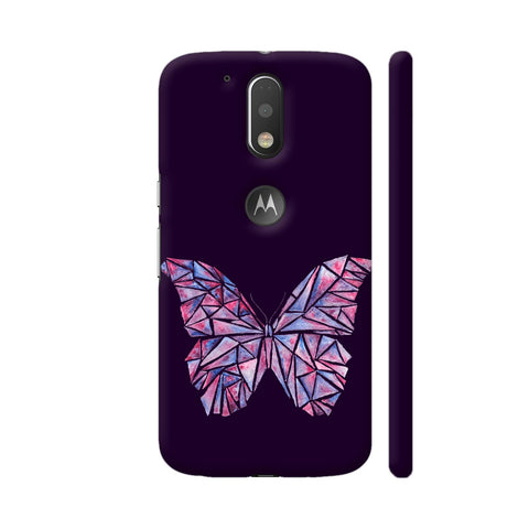 Abstract Watercolour Butterfly Moto G4 Plus Logo Cut Cover | Artist: Swathi Kirthyvasan