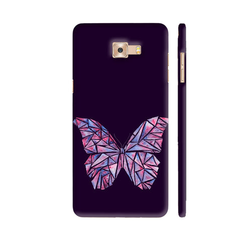 Abstract Watercolour Butterfly Samsung C9 Pro Cover | Artist: Swathi Kirthyvasan
