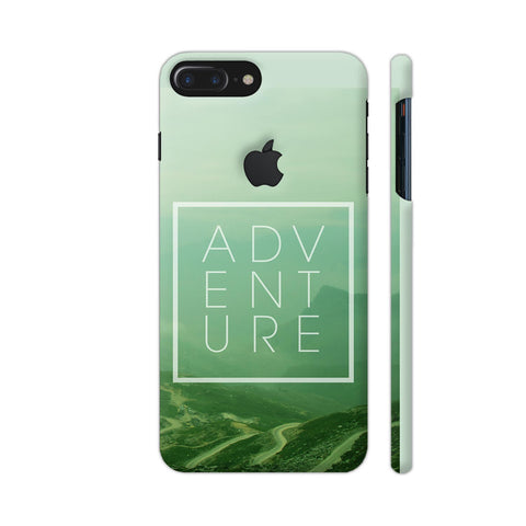 Adventure Travel Inspire iPhone 7 Plus Logo Cut Cover | Artist: Dolly P