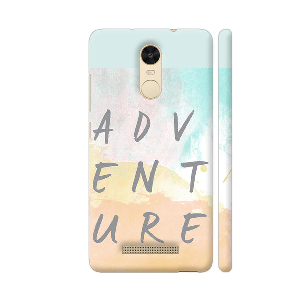 Adventure Redmi Note 3 Cover | Artist: Adeela Abdul Razak