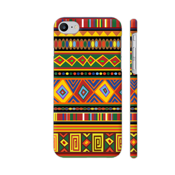 Africa Ethnic Art Pattern iPhone 7 Cover | Artist: BluedarkArt