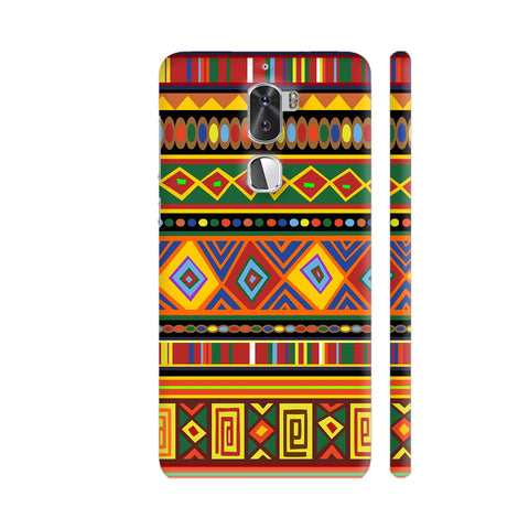 Africa Ethnic Art Pattern Coolpad Cool 1 / Cool1 Dual Cover | Artist: BluedarkArt
