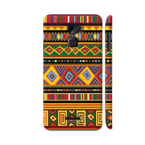 Africa Ethnic Art Pattern Coolpad Note 3 Lite Cover | Artist: BluedarkArt