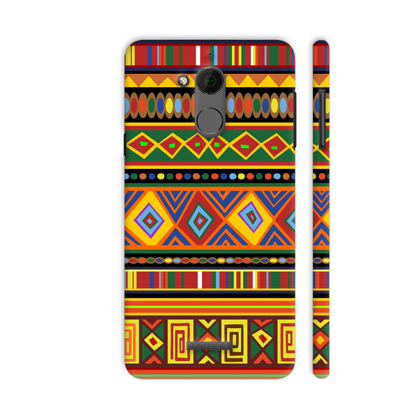 Africa Ethnic Art Pattern Coolpad Note 5 Cover | Artist: BluedarkArt