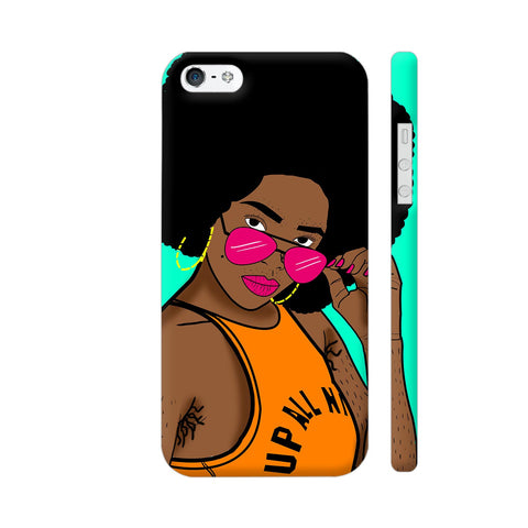 Afro Swag iPhone SE Cover | Artist: Disha