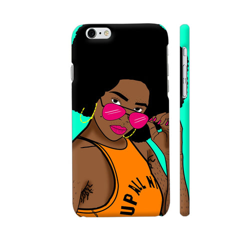 Afro Swag iPhone 6 Plus / 6s Plus Cover | Artist: Disha