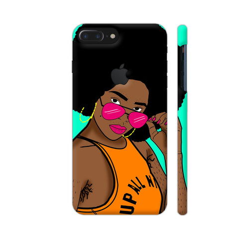 Afro Swag iPhone 7 Plus Logo Cut Cover | Artist: Disha
