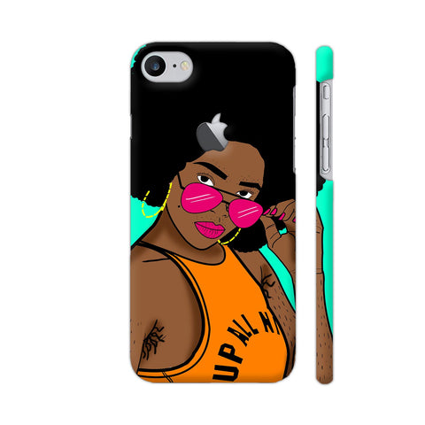 Afro Swag iPhone 7 Logo Cut Cover | Artist: Disha