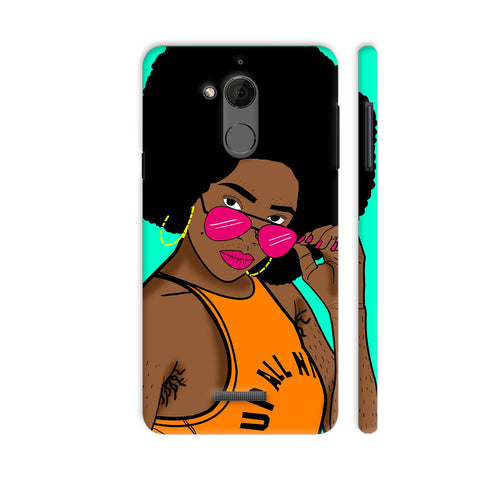 Afro Swag Coolpad Note 5 Cover | Artist: Disha