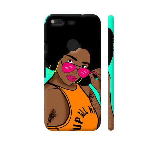 Afro Swag Google Pixel Cover | Artist: Disha