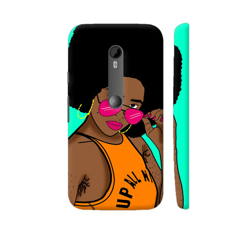 Afro Swag Moto G Turbo Cover | Artist: Disha