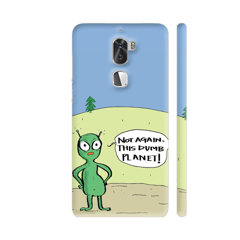 Aliens On Dumb Planet Earth Coolpad Cool 1 / Cool1 Dual Cover | Artist: Manasi Deshpande