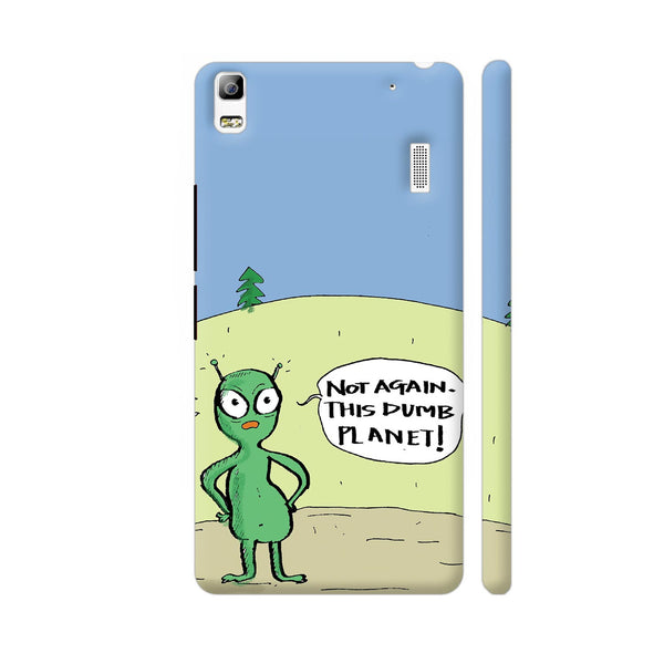 Aliens On Dumb Planet Earth Lenovo A7000 Cover | Artist: Manasi Deshpande