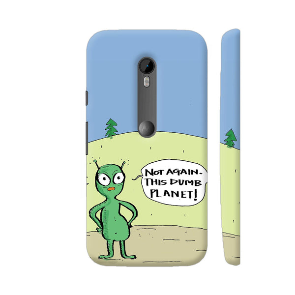 Aliens On Dumb Planet Earth Moto G Turbo Cover | Artist: Manasi Deshpande