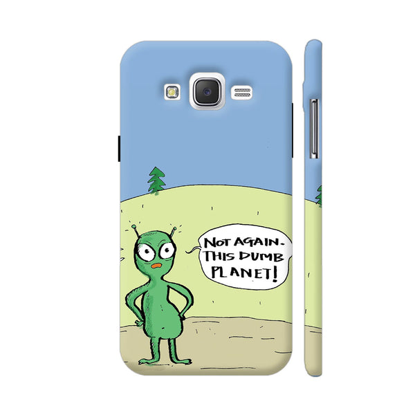 Aliens On Dumb Planet Earth Samsung Galaxy J2 (Old) Cover | Artist: Manasi Deshpande