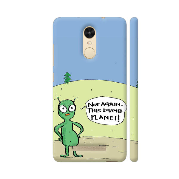 Aliens On Dumb Planet Earth Redmi Note 3 Cover | Artist: Manasi Deshpande