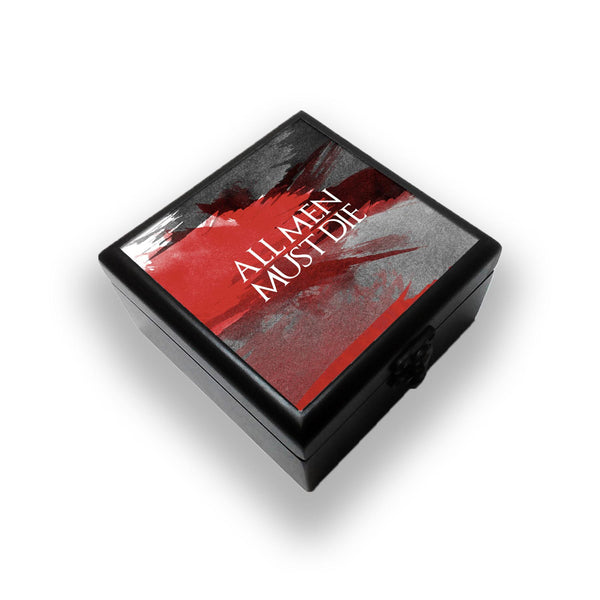 All Men Must Die Jewellery Box