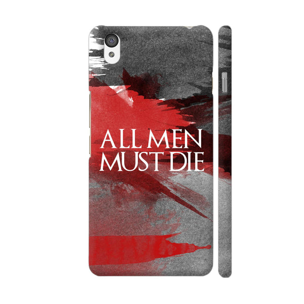 All Men Must Die OnePlus X Cover | Artist: Abhinav