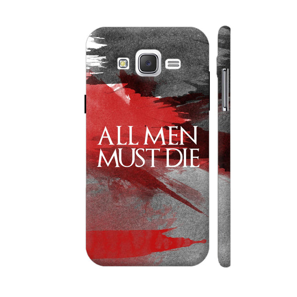 All Men Must Die Samsung Galaxy J5 Case