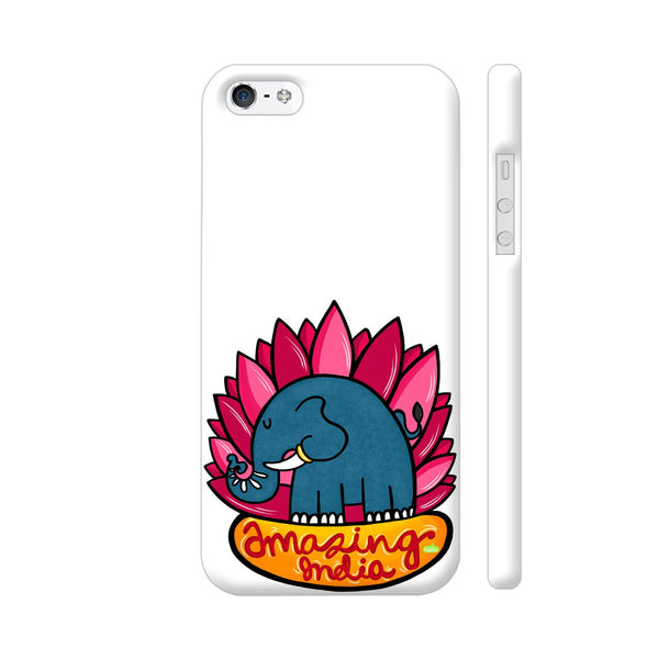 Amazing India iPhone SE Cover | Artist: Woodle Doodle