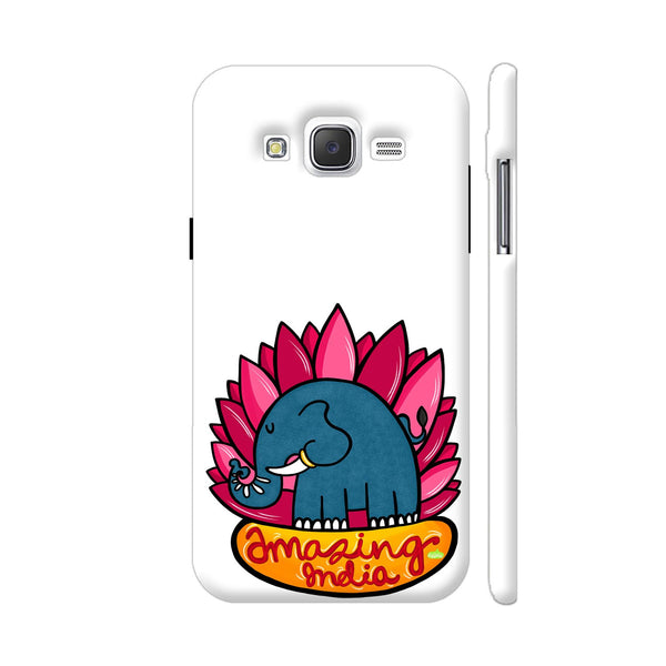 Amazing India Samsung Galaxy J2 (Old) Cover | Artist: Woodle Doodle