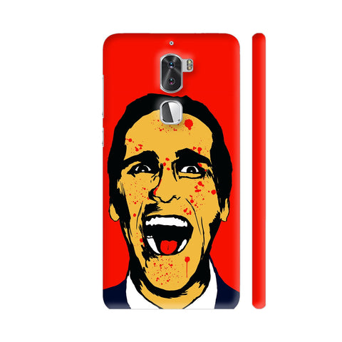 American Psycho On Red Coolpad Cool 1 / Cool1 Dual Cover | Artist: Kaushal Faujdar