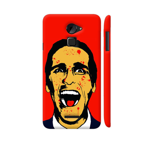 American Psycho On Red Coolpad Note 3 Lite Cover | Artist: Kaushal Faujdar
