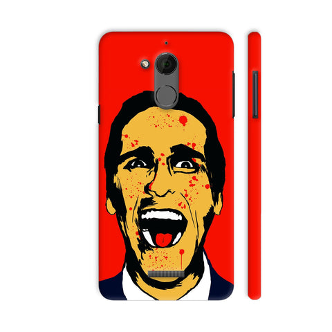American Psycho On Red Coolpad Note 5 Cover | Artist: Kaushal Faujdar