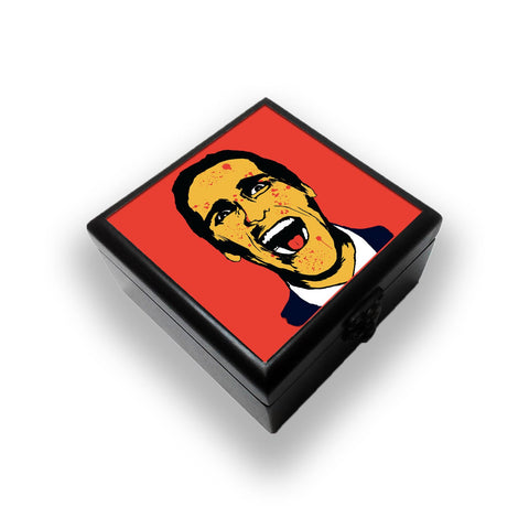 American Psycho On Red Jewellery Box