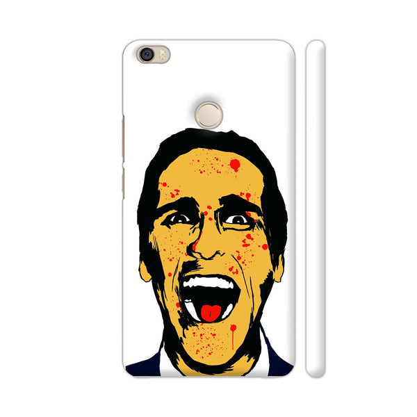 American Psycho On White Xiaomi Mi Max Cover | Artist: Kaushal Faujdar